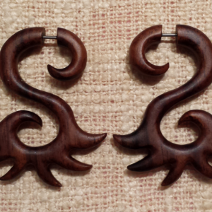 Organic earrings