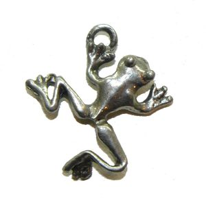 Tree Frog - Pewter Charm