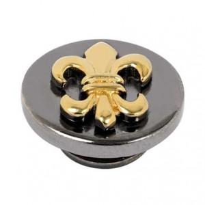 Kameleon JewelPop - Gold Fleur De Lis & Black Rhodium - KJP270