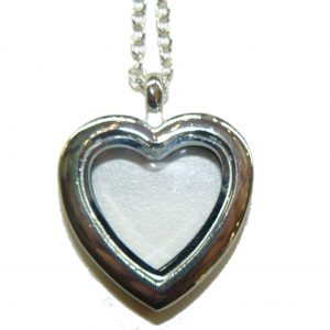 Floating Charm Locket Heart
