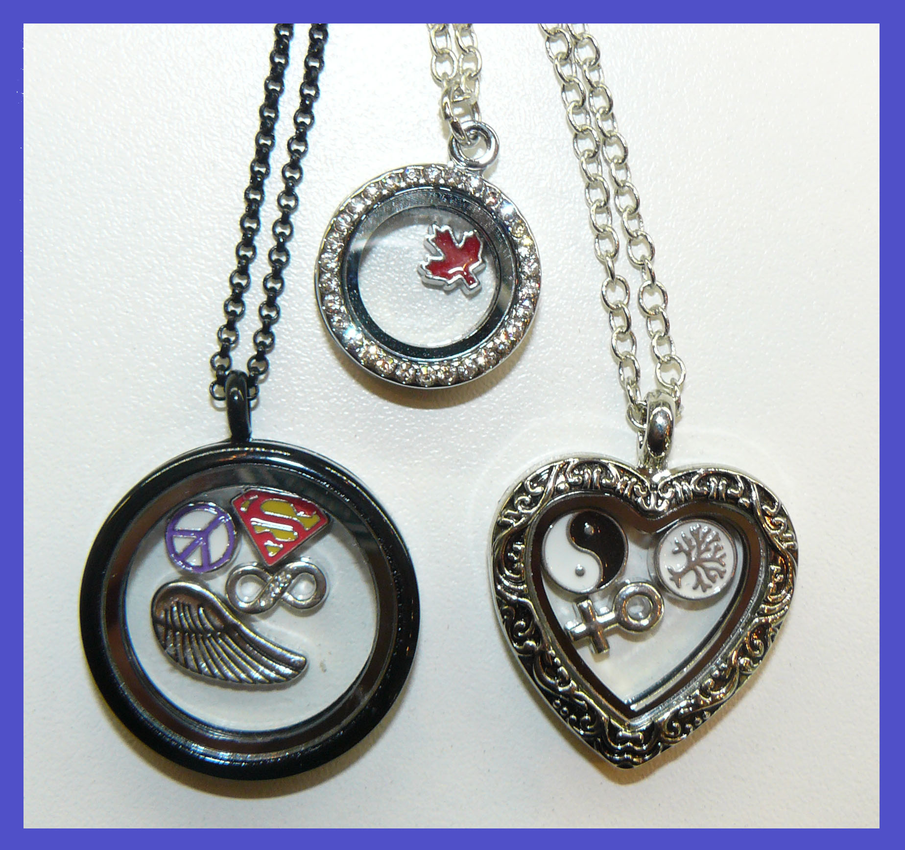 Floating locket jewelry product categories beaden canadas floating locket jewelry aloadofball Image collections