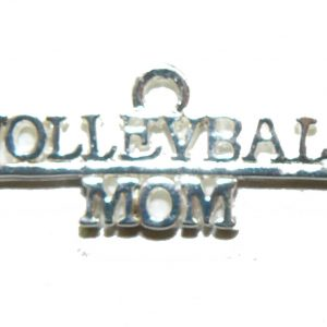 Volleyball Mom Charm
