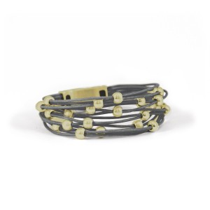 Bracelet Grey 7-090876