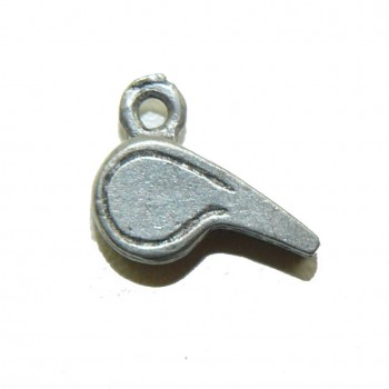 Coach Whistle Pewter Charm