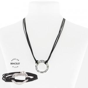 Necklace /BR Black 55-089962