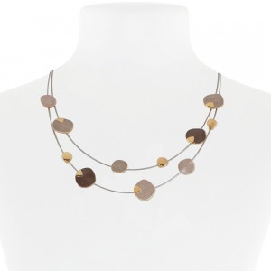 Necklace Taupe 07-088217