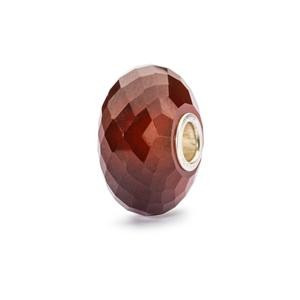 Hessonite Garnet Bead