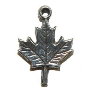 Maple Leaf Small Metal Charm
