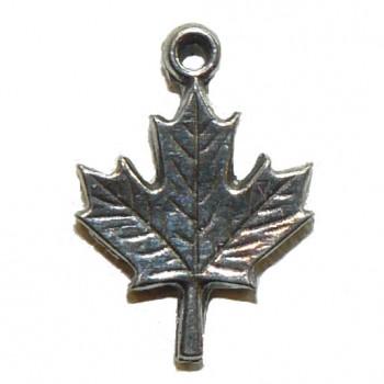Maple Leaf Small Metal Charm