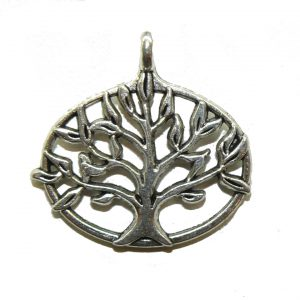 Oval Tree Of Life Charm