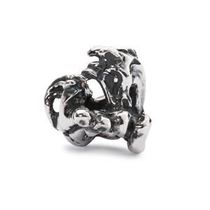 Unicorn Bead, Silver