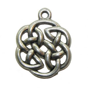 Celtic Circle Knot - Pewter Charm