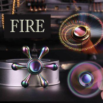 Fire Fidget Spinner