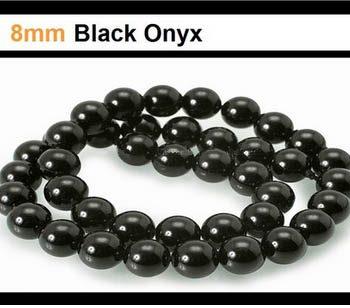 Black Onyx 8mm Bead