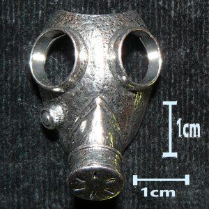 Gas Mask – Metal Charm