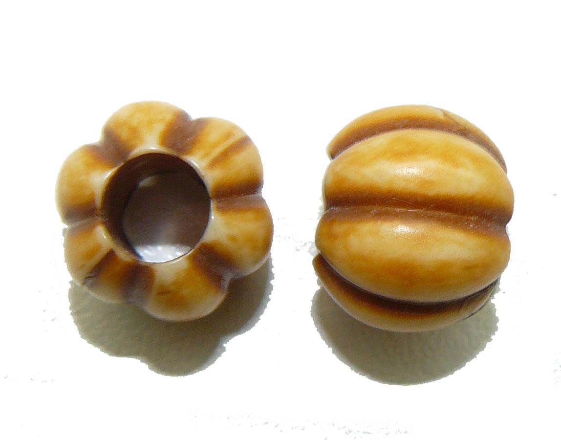 Pumkpin Bead large hole