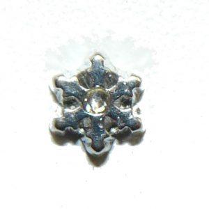 Snowflake – Floating Locket Charm