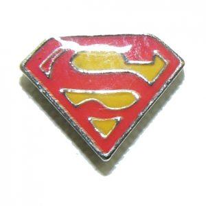 Superman – Floating Locket Charm