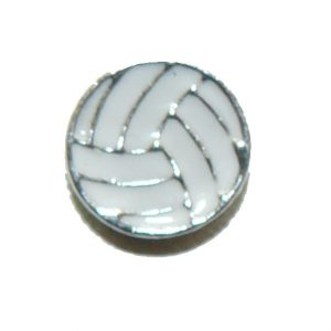 Floating Locket Charm Volleyball