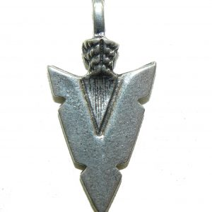 Arrow Head Pewter Charm