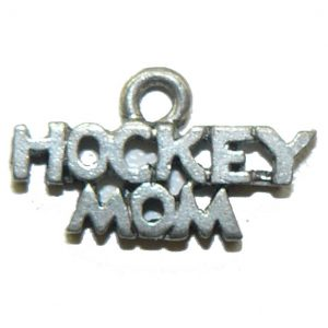 Hockey Mom Pewter Charm
