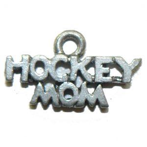 Hockey Mom – Pewter Charm