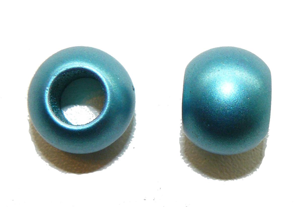 Metallic Blue Acrylic Large