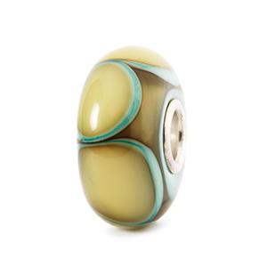 Aqua Edge Petals Bead