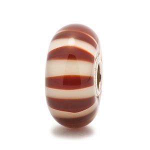 Chocolate Stripe Bead
