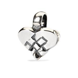Christmas Heart Bead