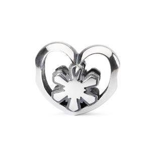 Crystal Heart Bead