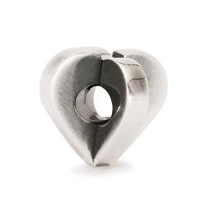 Double Heart Bead
