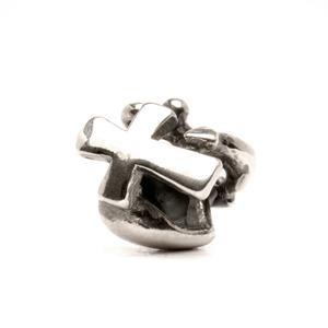 Trollbeads – Faith, Hope & Charity Bead, Silver – 11119