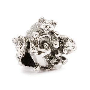Trollbeads – Family of Puppies Bead – 11355