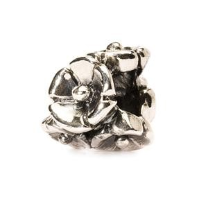 Forget-Me-Not Bead, Silver
