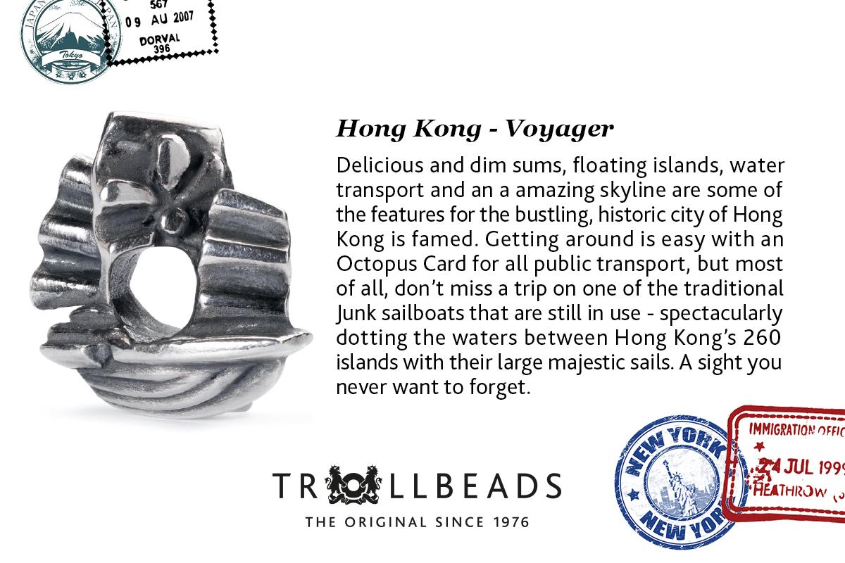 HongKong Trollbead City Bead