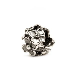 Hydrangea Bead, Silver