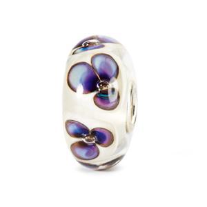 Ivory Violets Bead