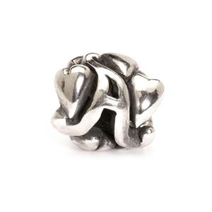 Letter Bead A, Silver