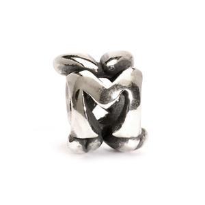 Trollbeads – Letter Bead M, Silver – 11144M