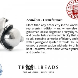 London Trollbead City Bead