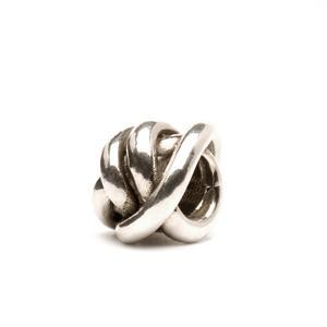 Trollbeads – Lucky Knot Bead, Silver – 11112