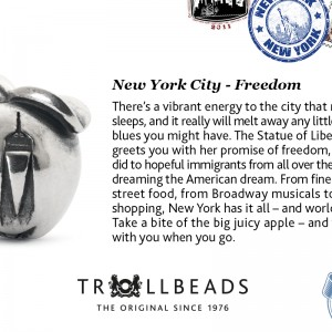 NewYork Trollbead City Bead