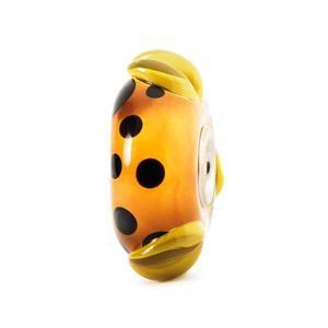 Orange Pod Bead