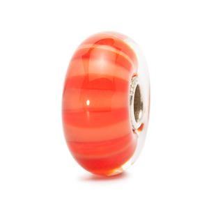 Peach Stripe Bead