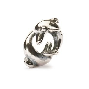 Trollbeads – Playing Dolphins Bead – 11170