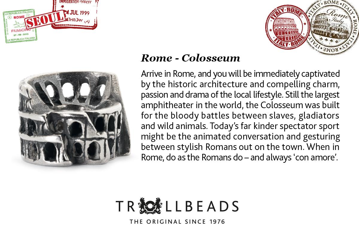 Rome Trollbead City Bead