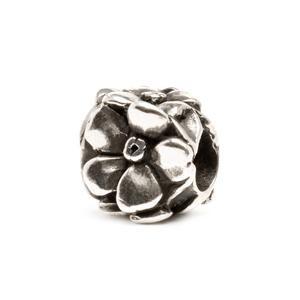 Rose Bead, Silver