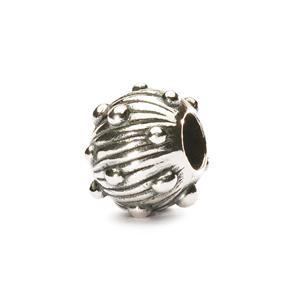 Silver Sea Urchin Bead