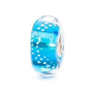 Trollbeads – Silver Trace Bead, Turquoise